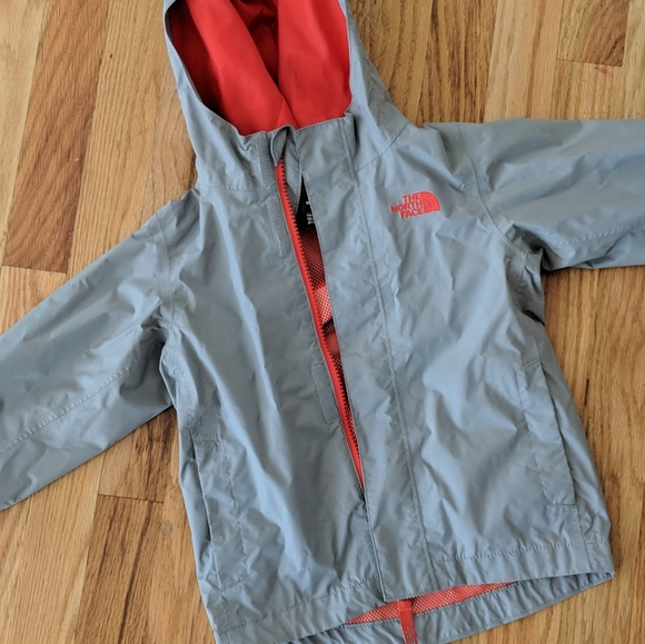 19bb30314 Boys The North Face gray dryvent rain jacket, 3T